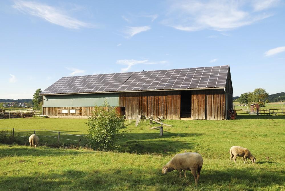 Fotowoltaika dla rolnika - panele fotowoltaiczne na stodole